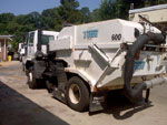 1999 Freightliner SC8000 chassis with Tymco 600 BAH sweeper unit